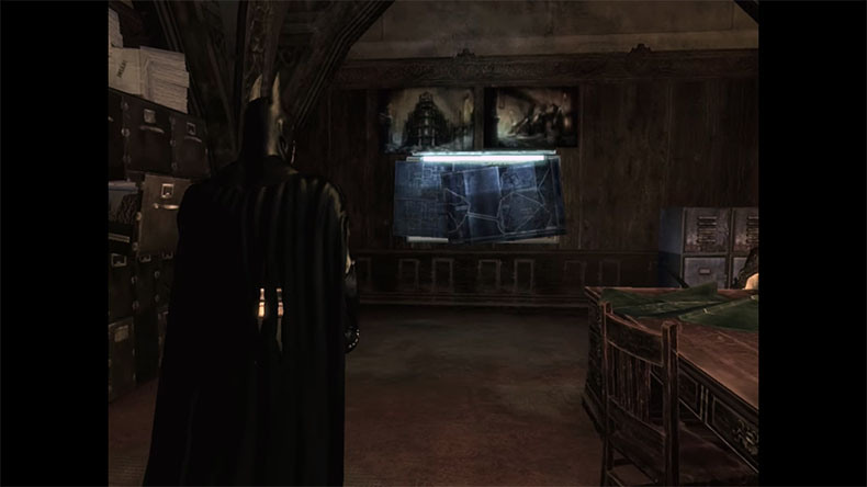11 Arkham Asylum Blueprint Room Copy