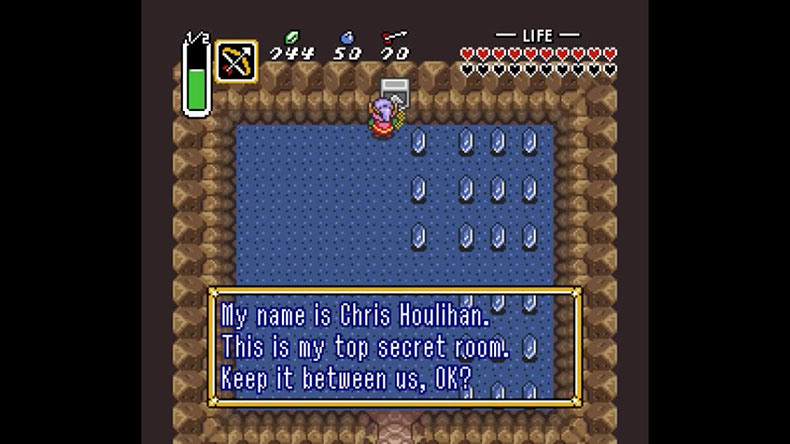 9 Link To The Past Secret Room